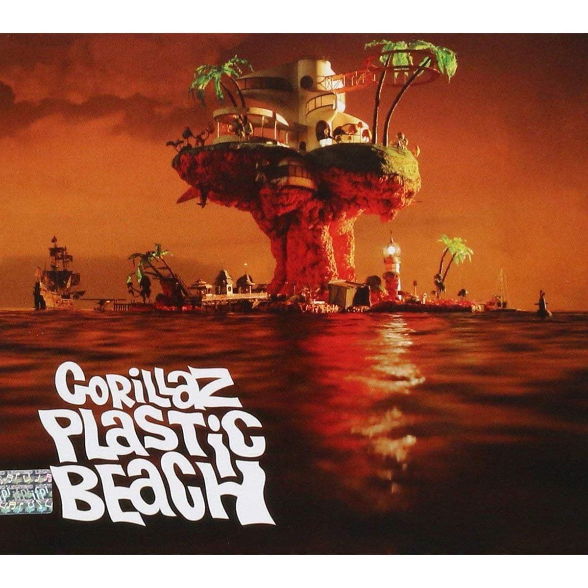 CD Gorillaz-Plastic Beach