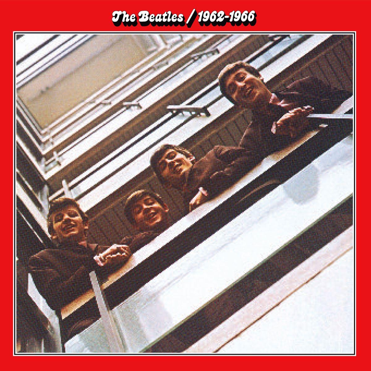 CD The Beatles- 1962-1966 Rojo