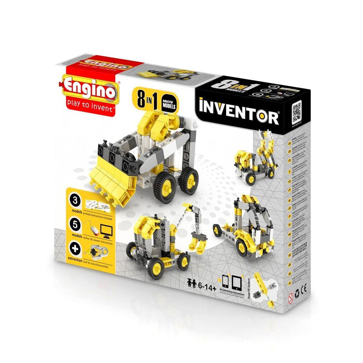 Inventor 8 en 1 Industria 74 pz