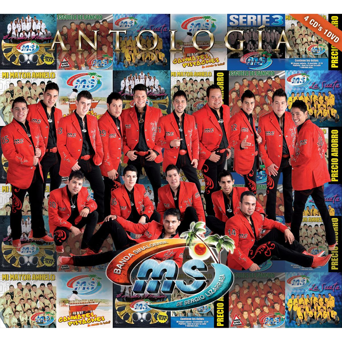 CD Banda Sinaloense MS- Antología