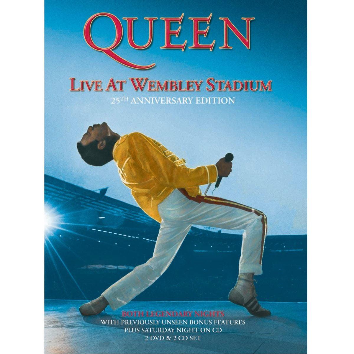 DVD 2 Queen- Live at Wembley Stadium