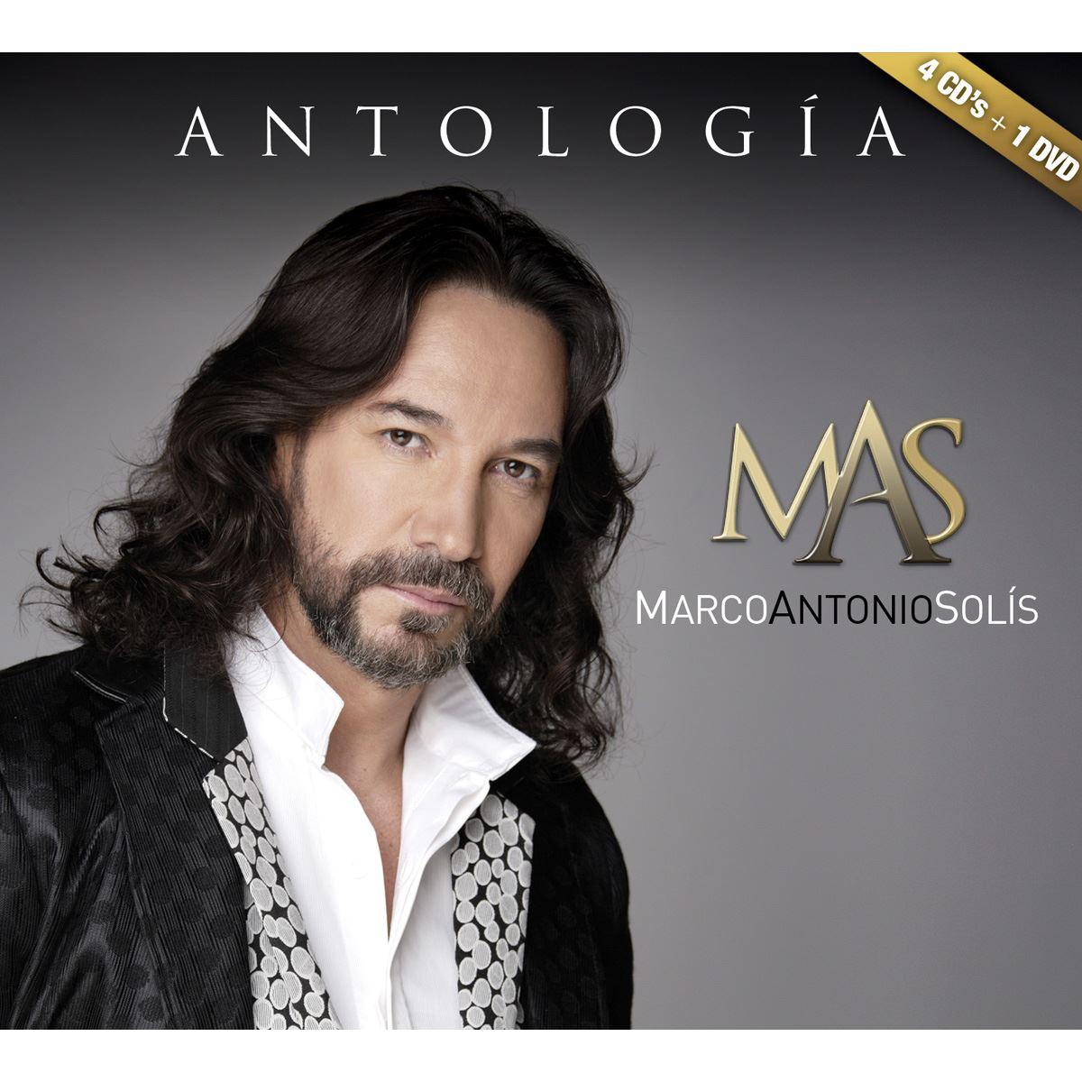CD Antología Marco Antonio Solís