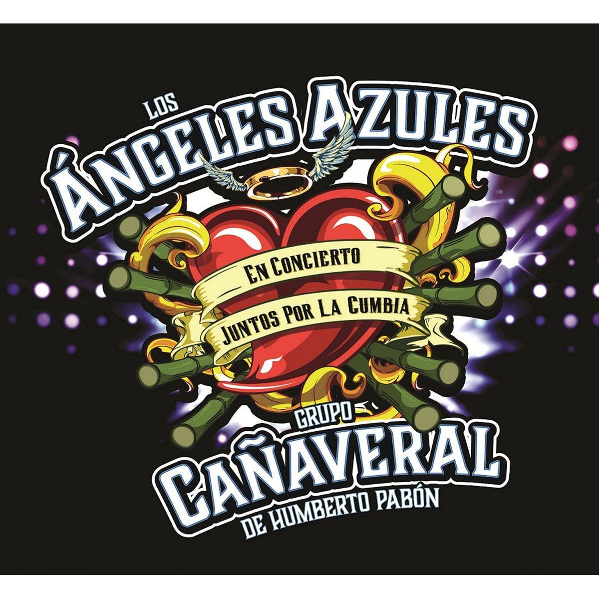 CD+ DVD Los Ángeles Azules- Juntos por la Cumbia