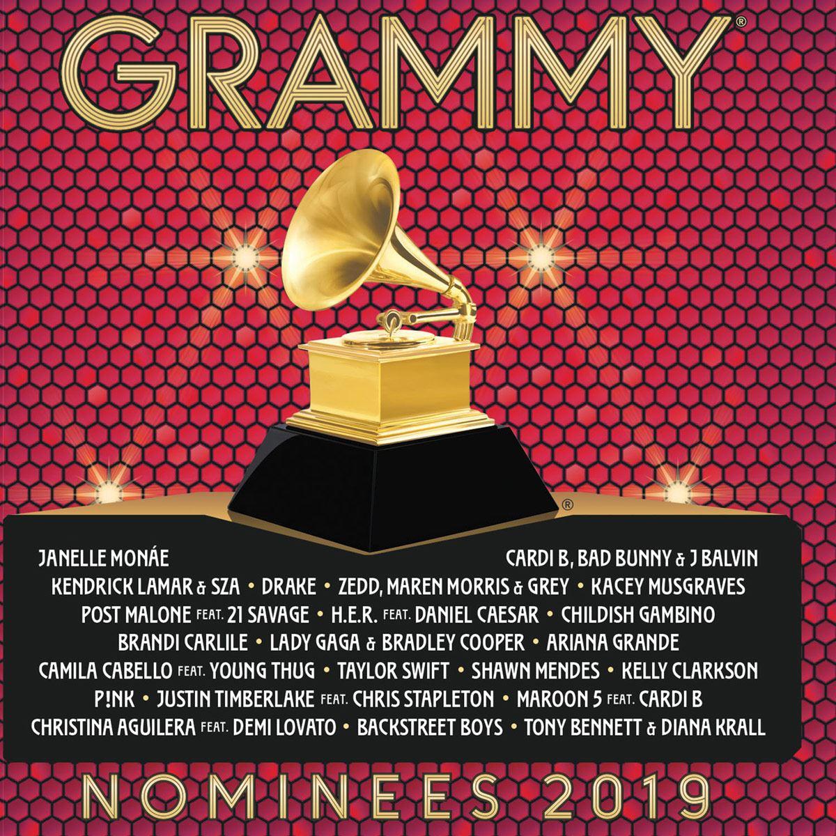CD Varios Nominees Grammy 2019