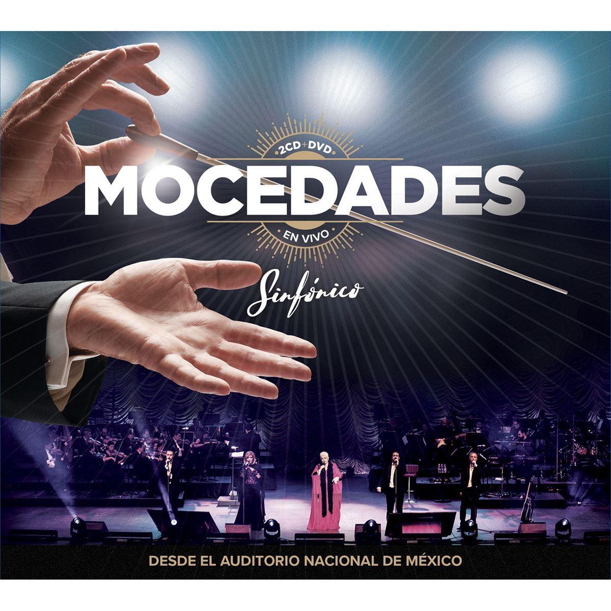 CD2+ DVD Mocedades Sinfónico