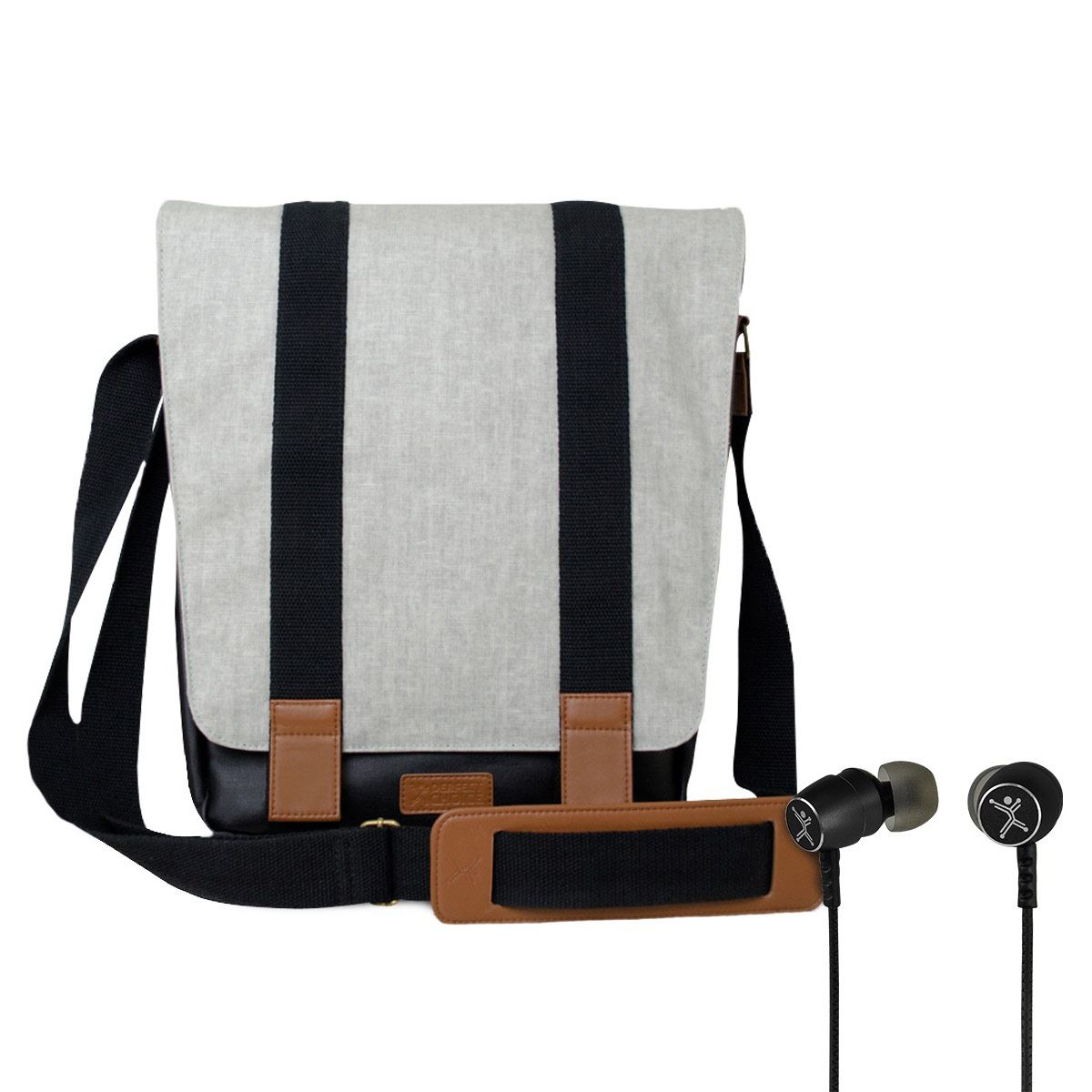 Kit Messenger + Audífonos Staccato Perfect Choice