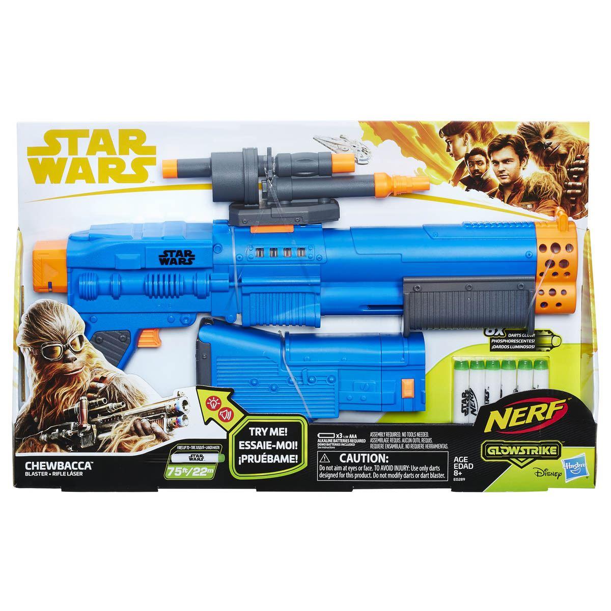 Lanzador Nerf Chewbacca Star Wars