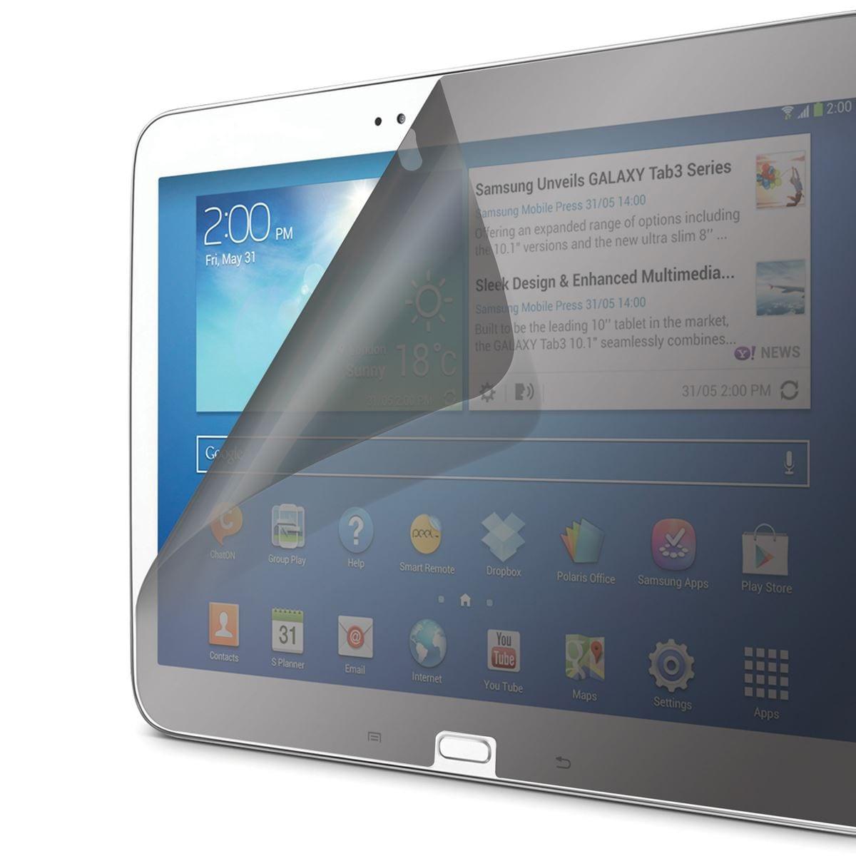 "Protector pantalla Privacidad Galaxy Tab 3, 10"""