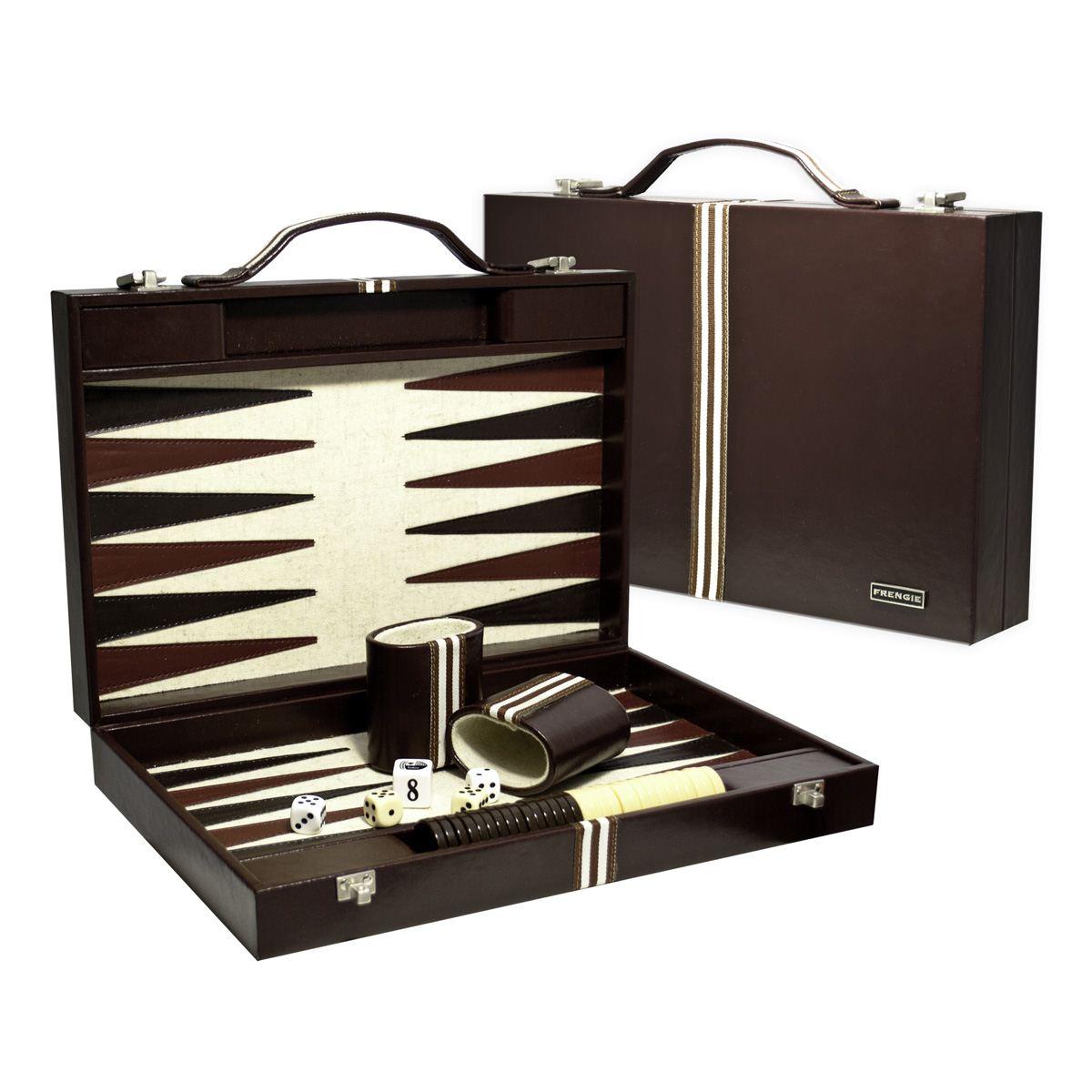 Backgammon interiores en paño