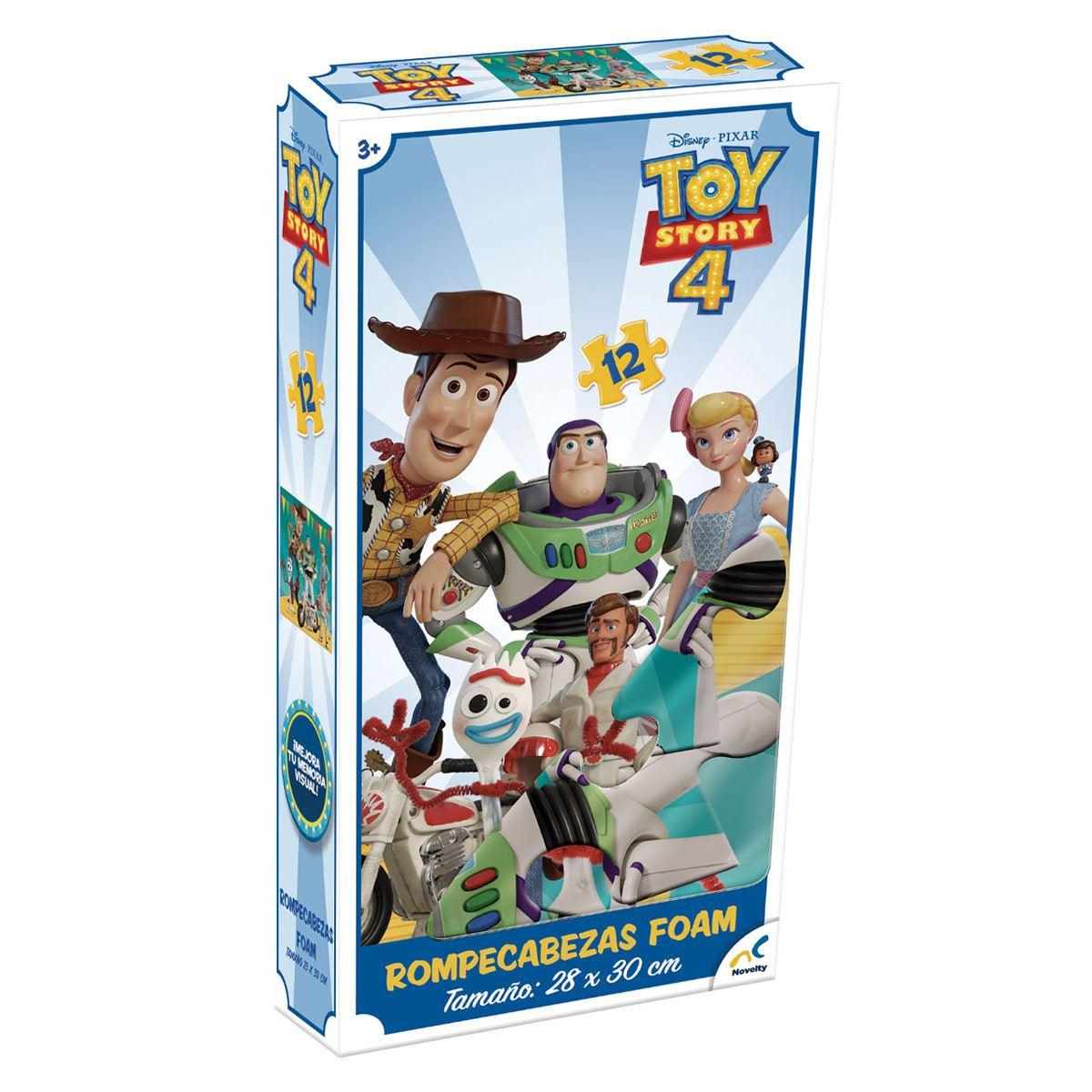 Rompecabezas de Toy Story 4 Novelty