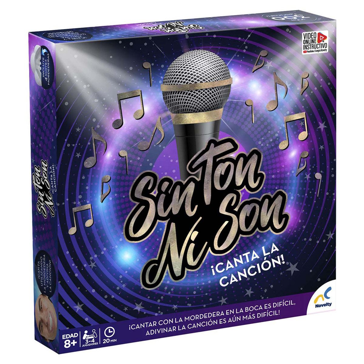 Juego de Mesa  Sin Ton Ni Son Canta la Canción Novelty