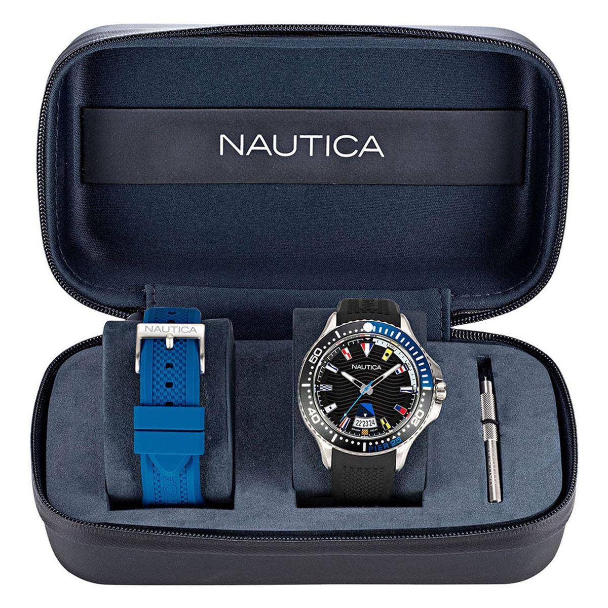 Reloj Nautica Dos Correas NAPP25F11 Negro