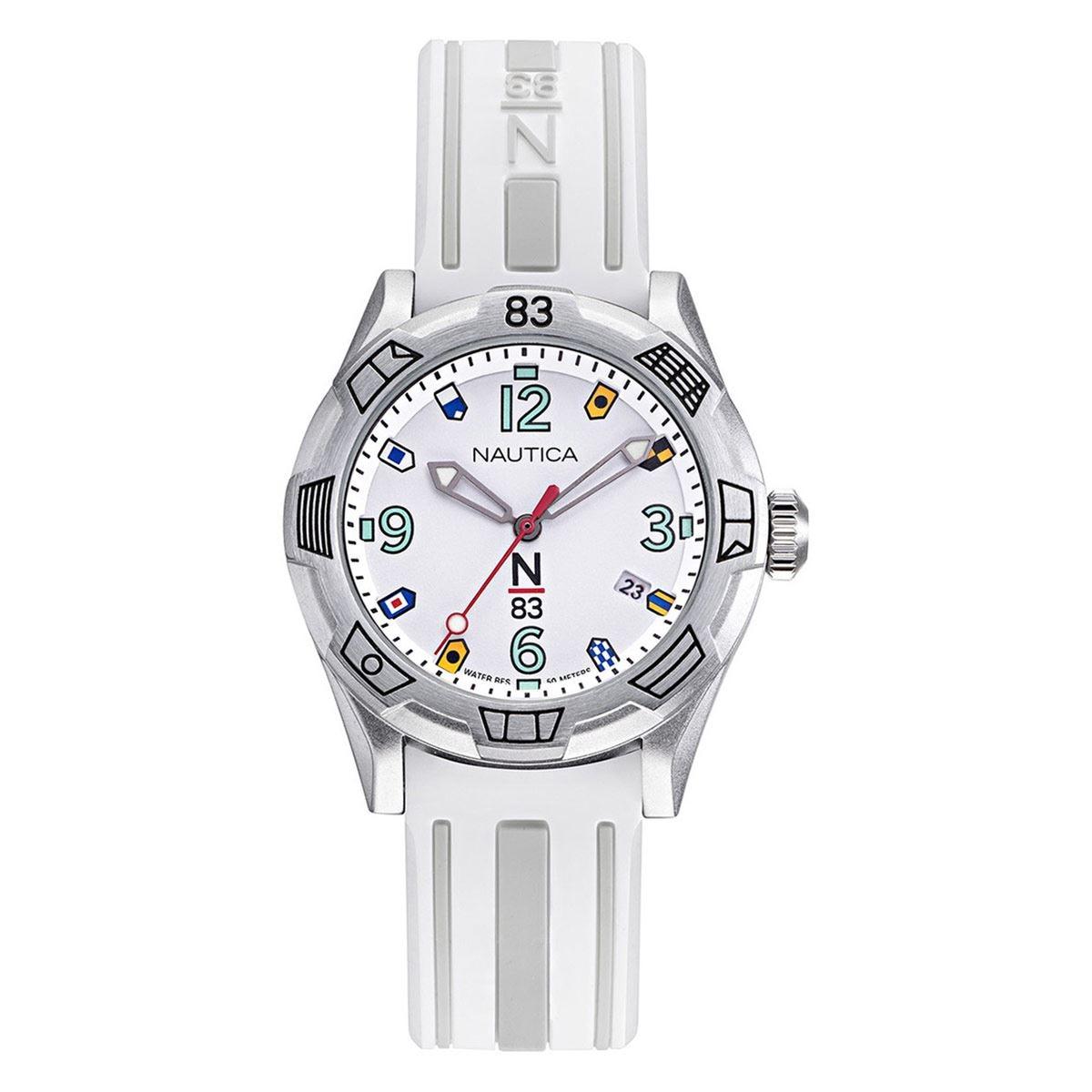Reloj N83 Blanco NAPPOF914