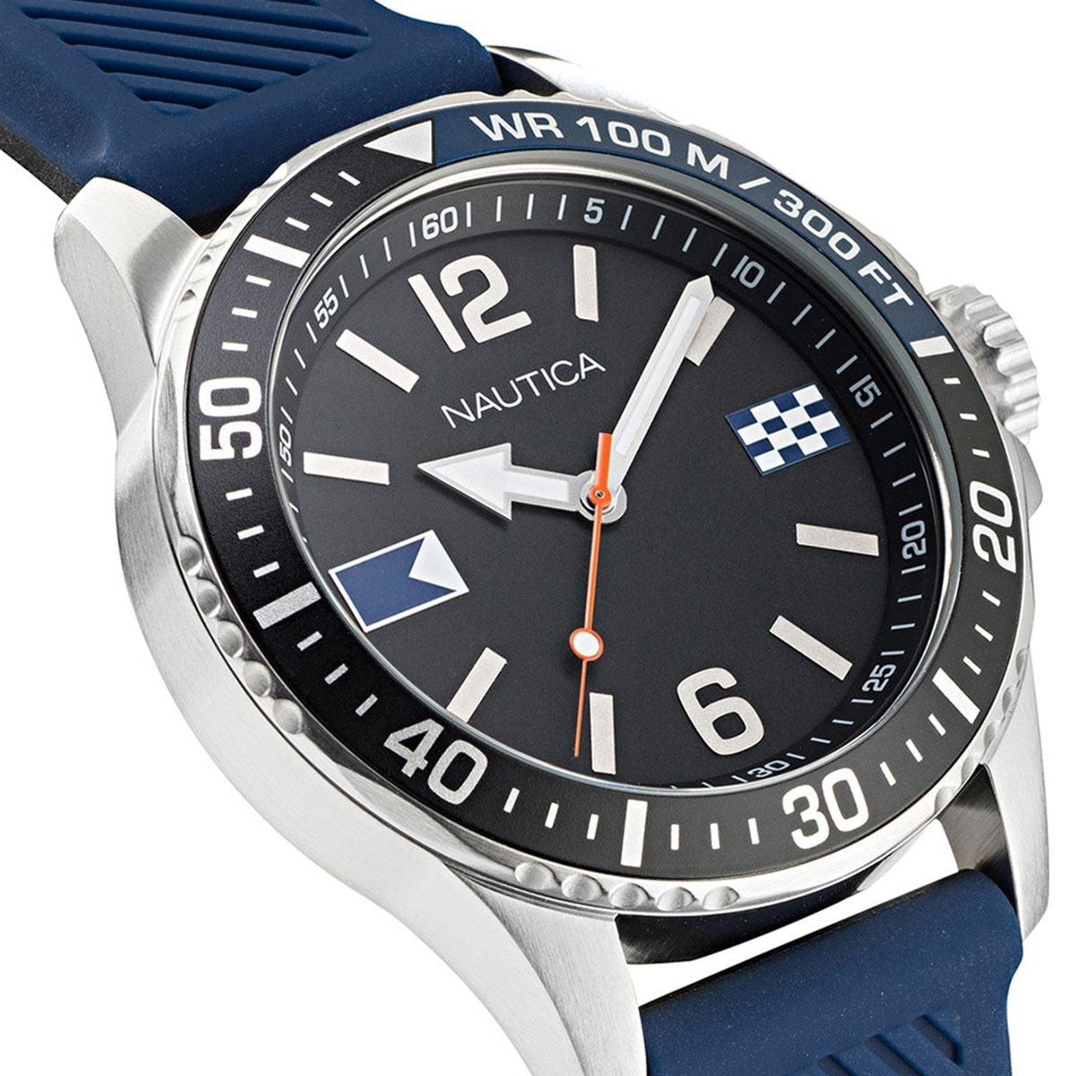 Reloj Nautica Azul Navy NAPFRB920 Para Caballero