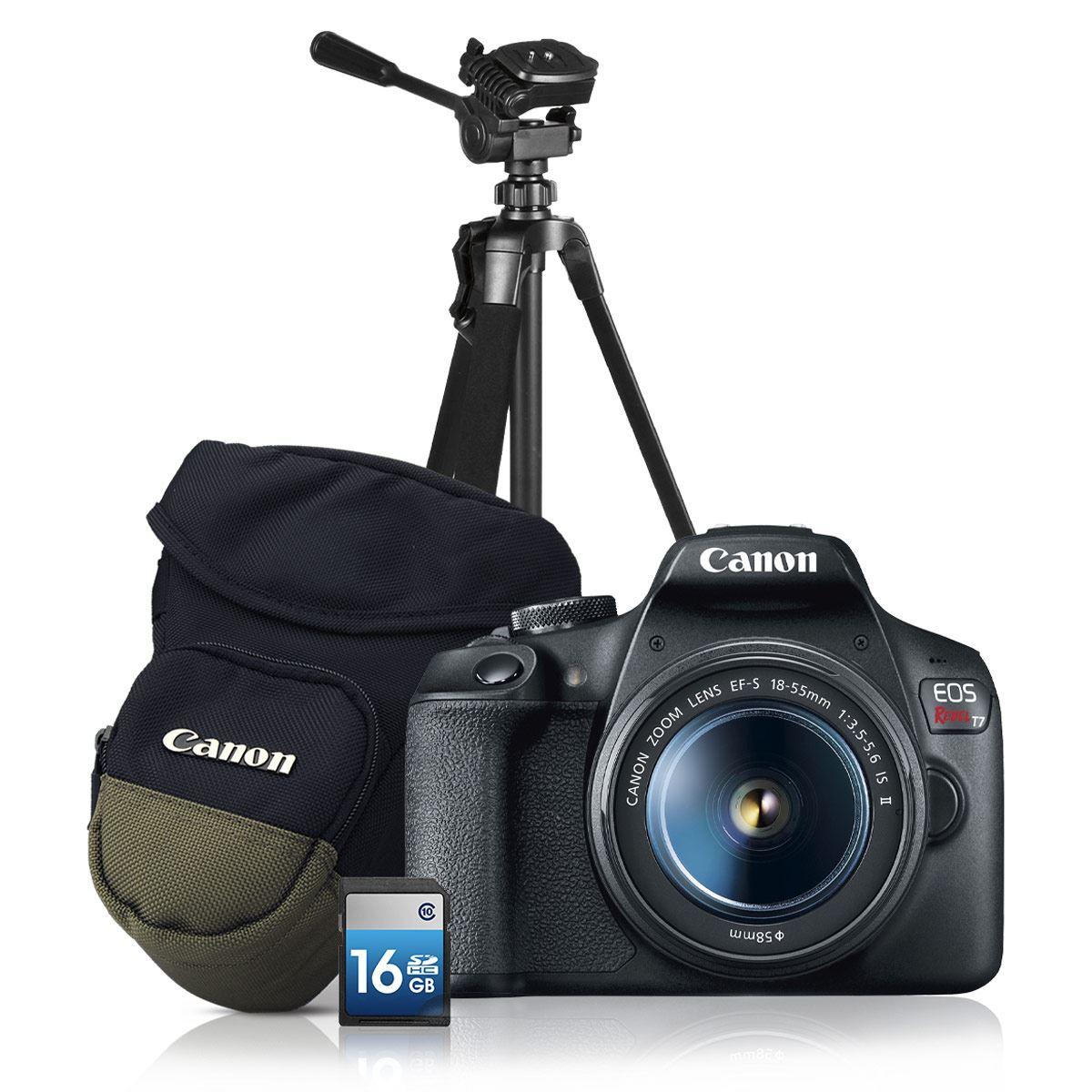 Kit Cámara Canon T7 18-55+ Tripié
