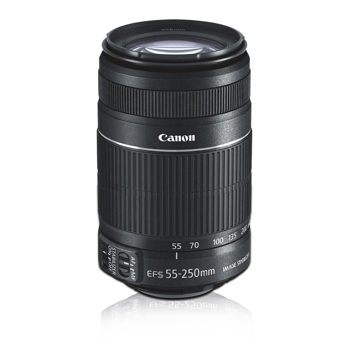 Kit Cámara Canon T7 18-55/55-250/GB