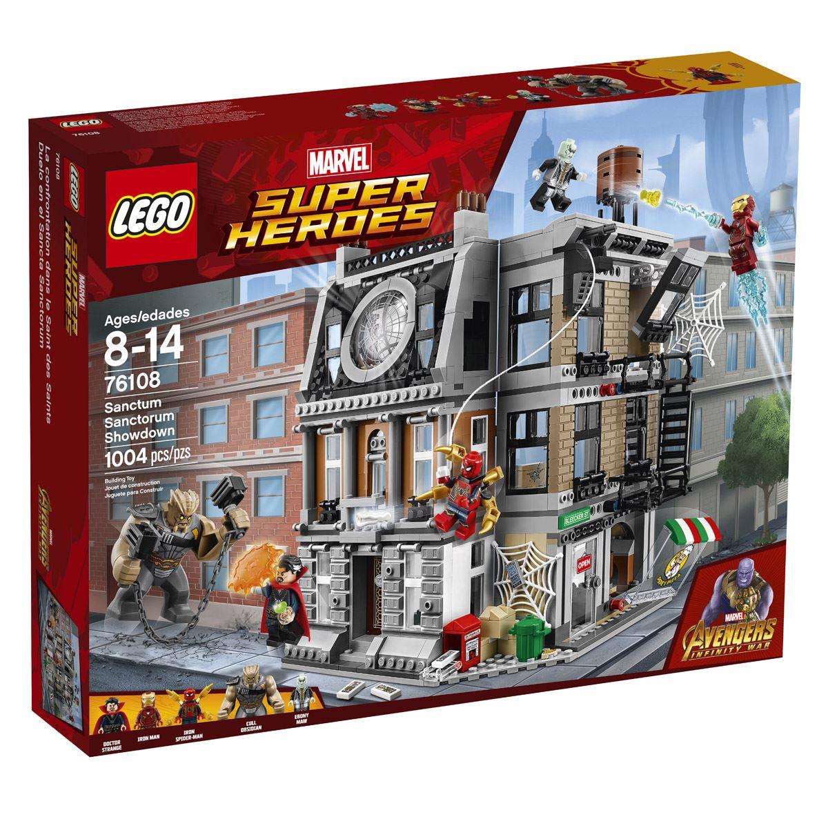 Super Héroes Duelo en el Sancta Sanctorum