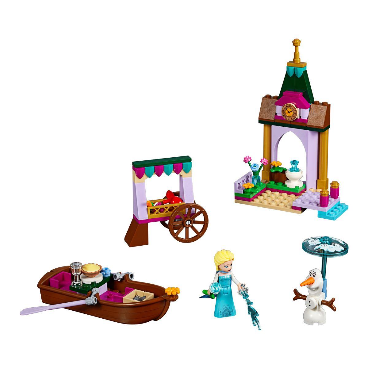 Lego Disney Frozen Aventura en El Mercado de Elsa