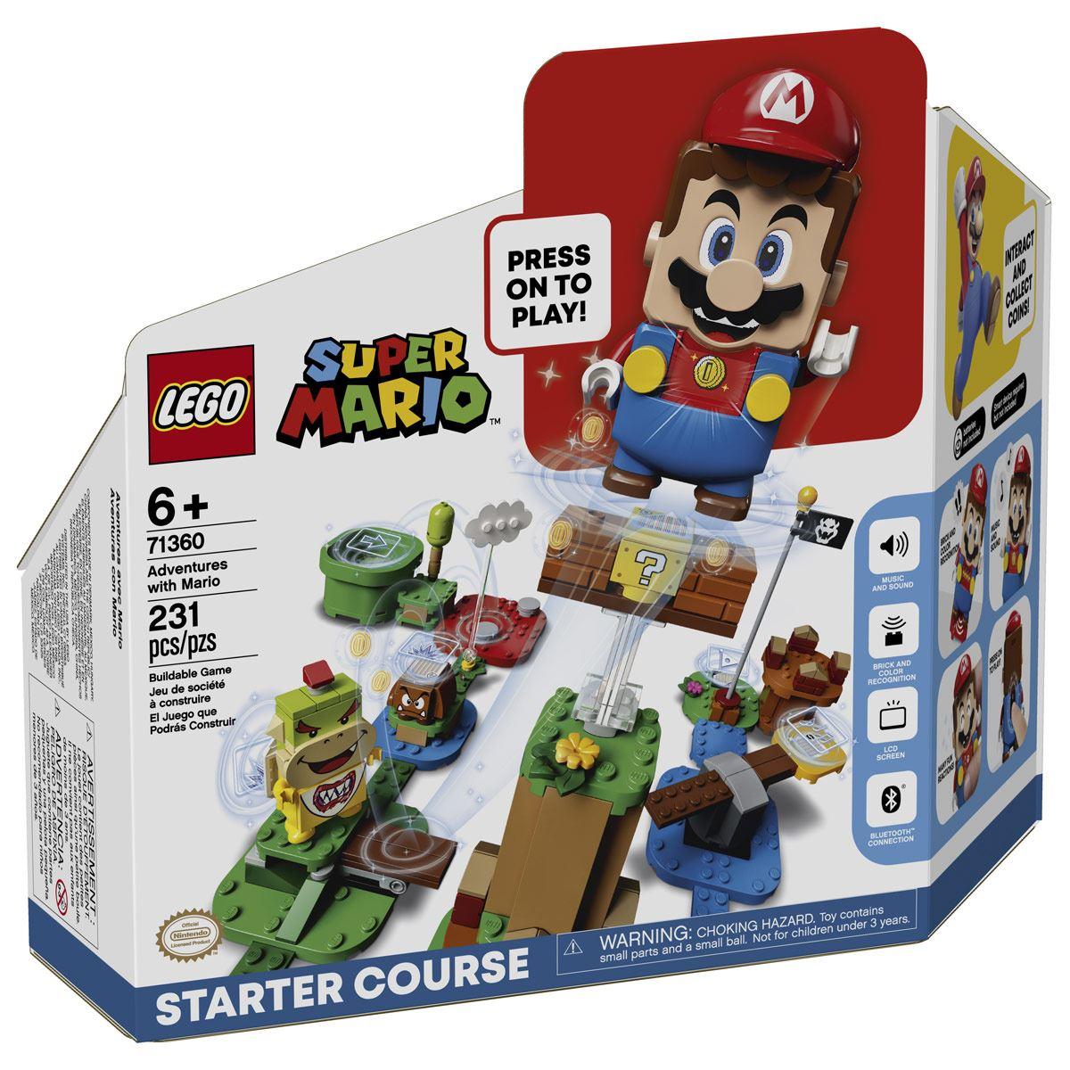 """Preventa Pack Inicial: Aventuras con Mario""."