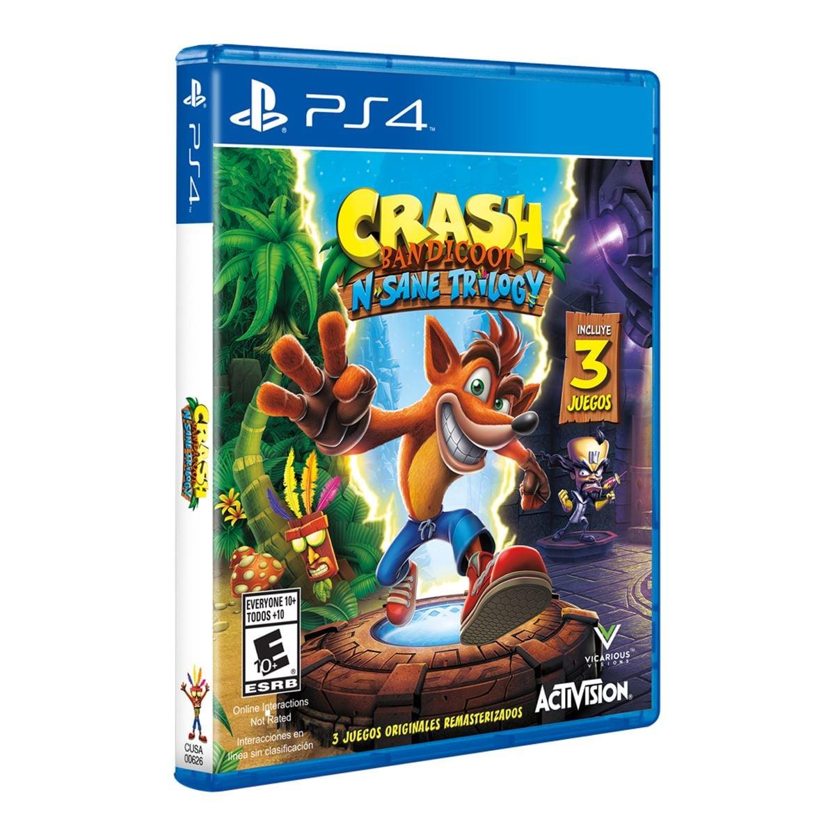 Ps4 Crash Bandicoot Trilogy