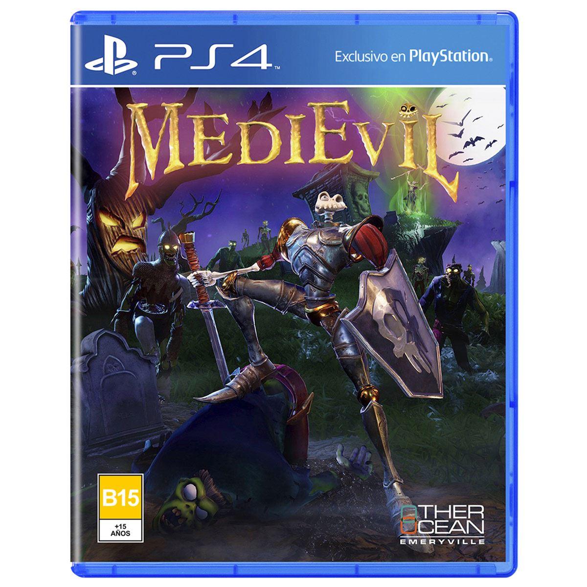 Medievil Remastered PlayStation 4