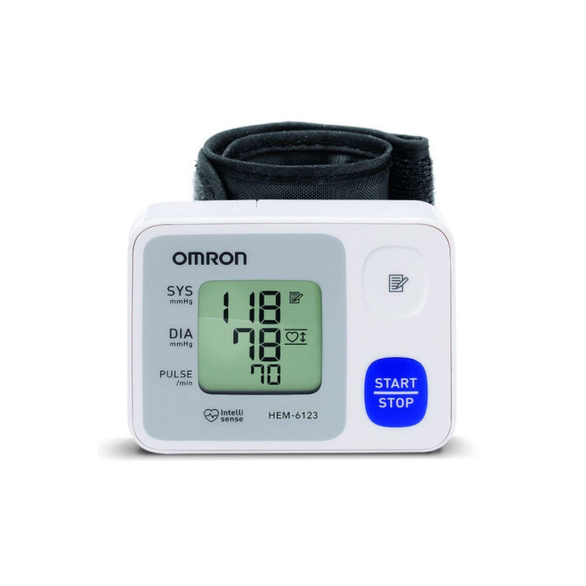 Baumanómetro/Monitor de presión arterial Omron Hem 6122