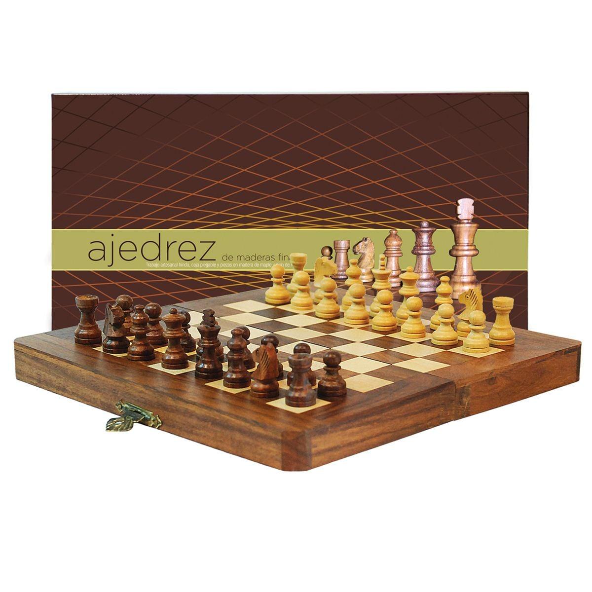Ajedrez Madera Mini 20x20 A200