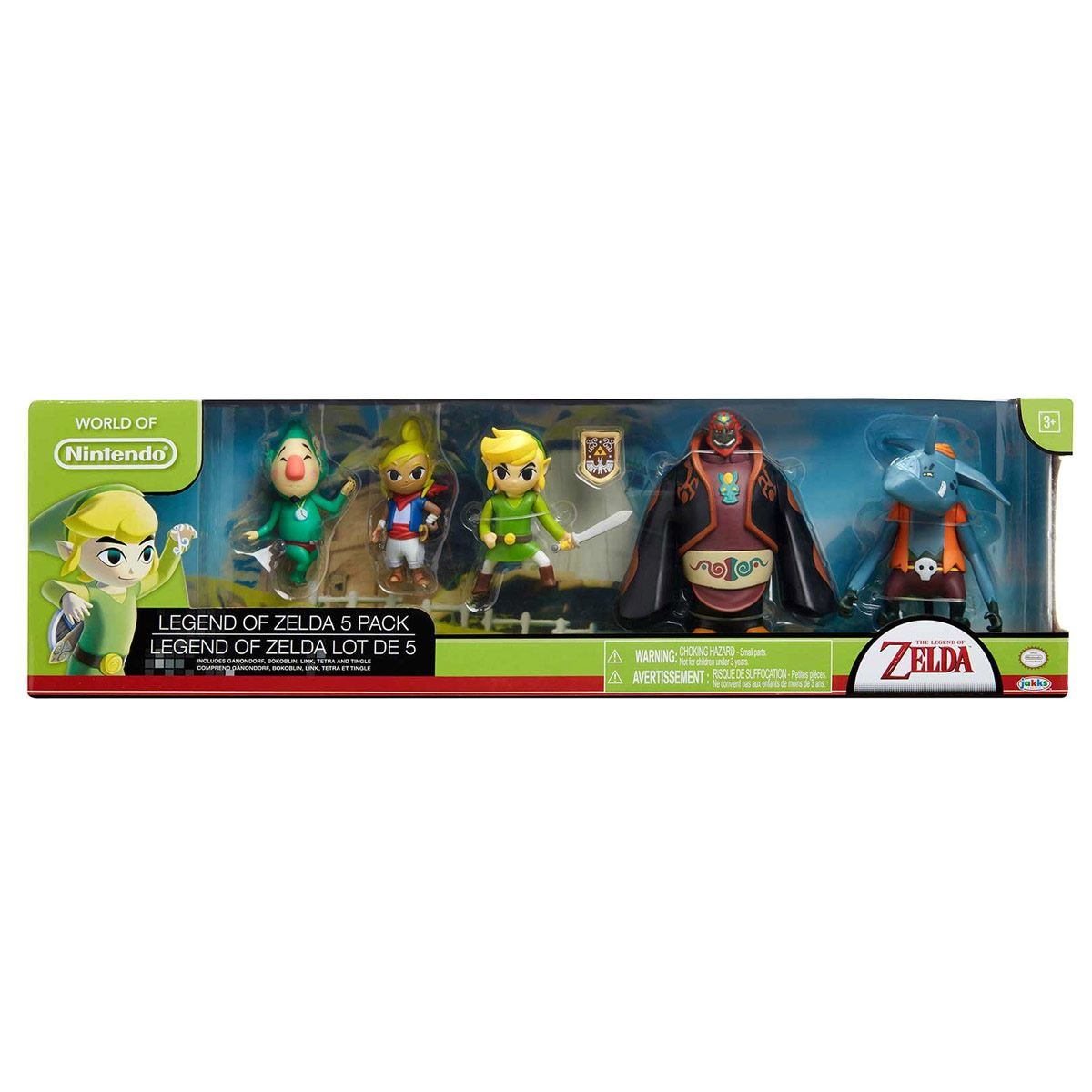 Figuras Legendarias Zelda set de 5  Nintendo