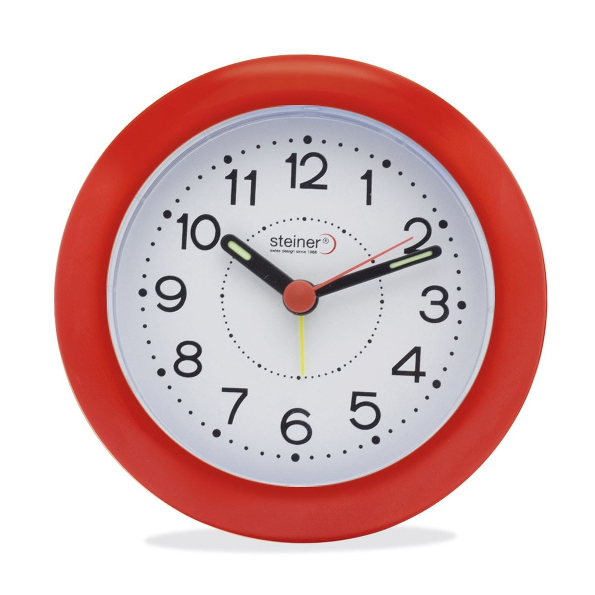 Reloj despertador RD301RD-R2 Steiner