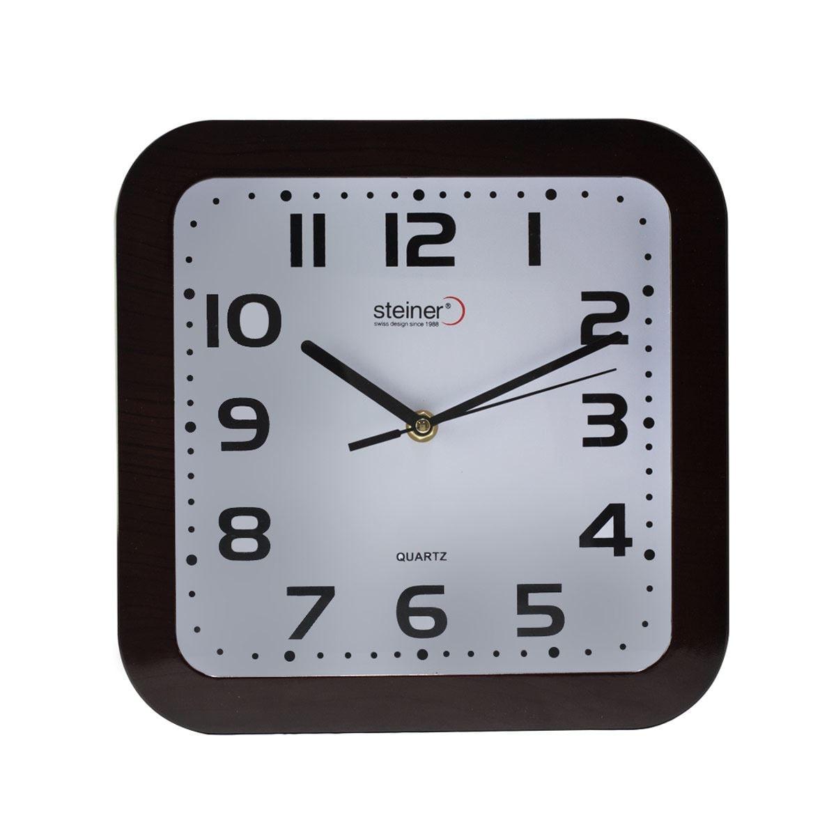Reloj de Pared TLD-35106D-BR Steiner