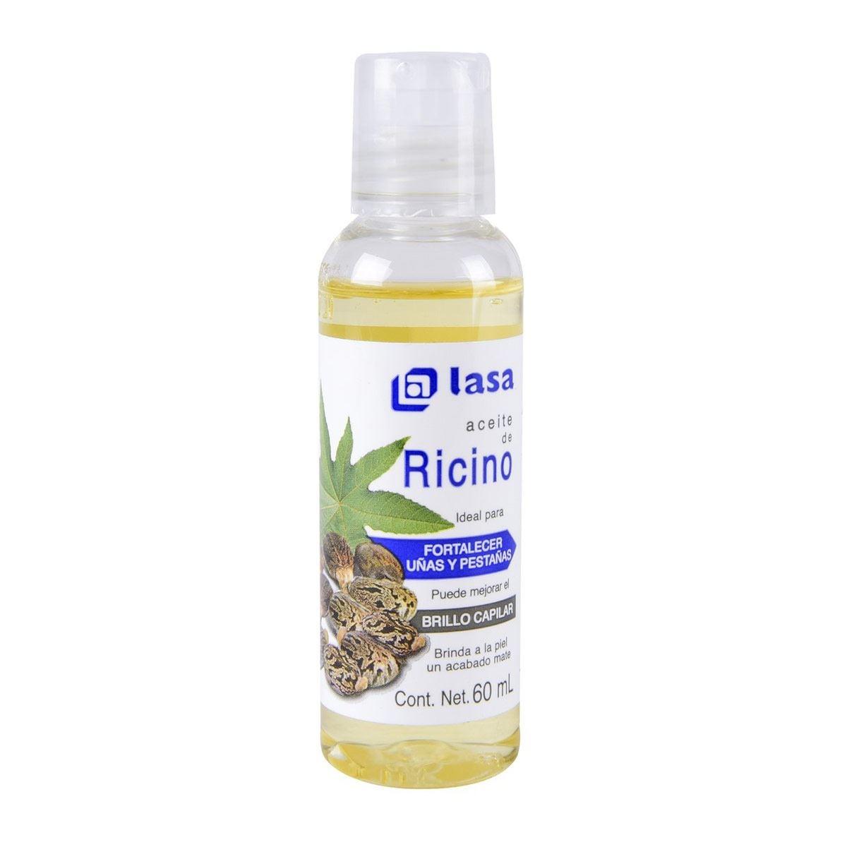 Aceite Ricino Lasa 60 Ml.