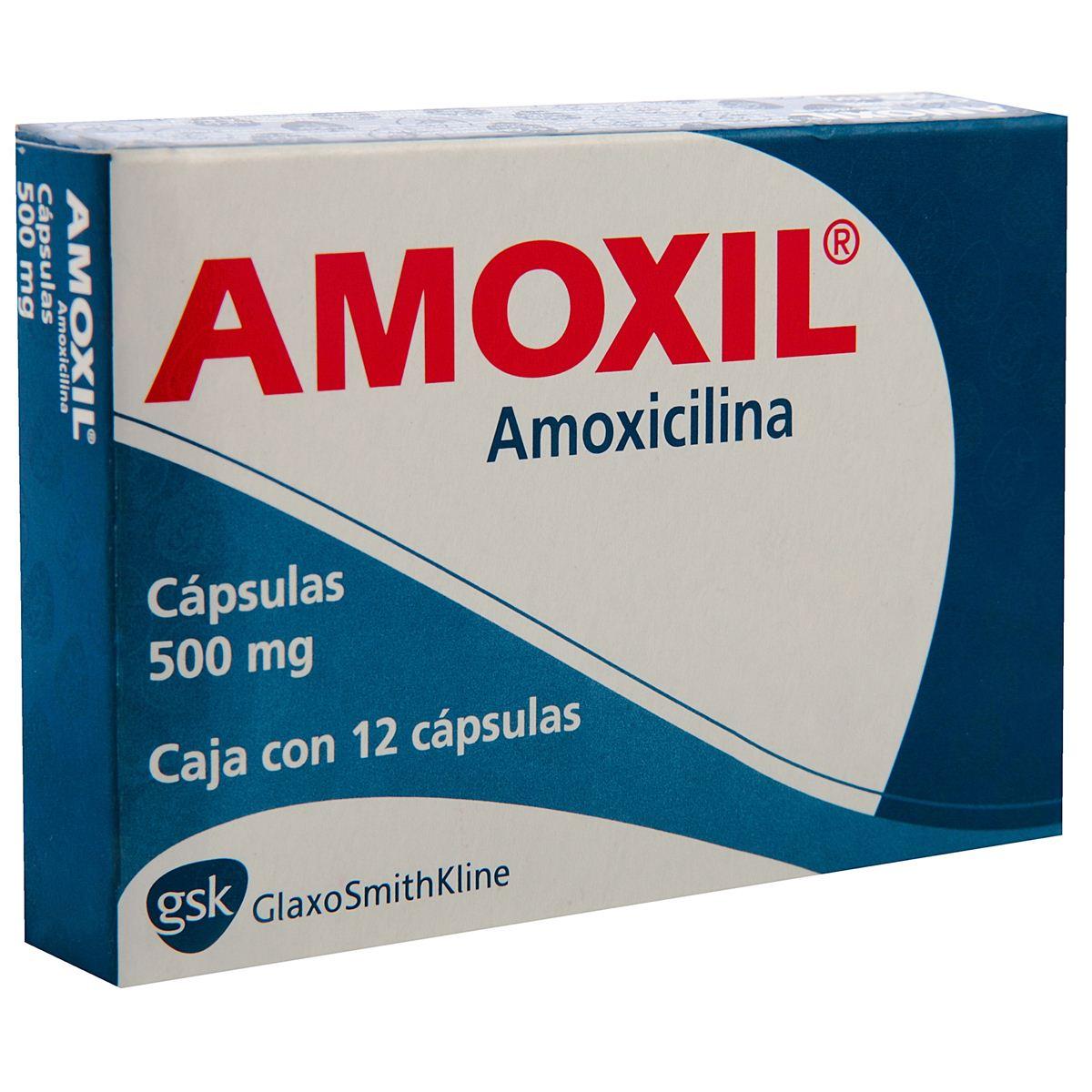 Amoxil 500 Mg Caps.C/12