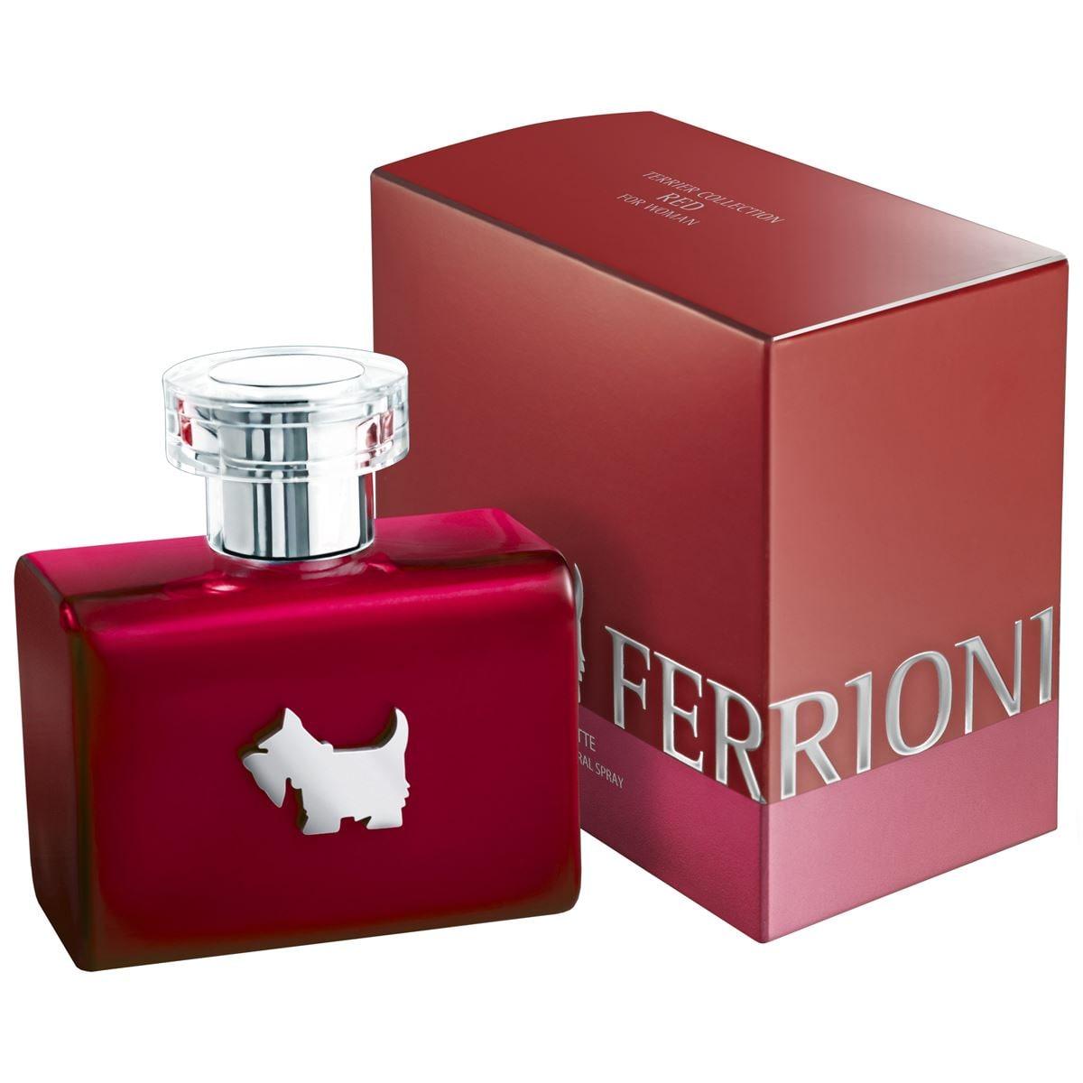 Fragancia Para Dama Terrier Collection Red for Woman de Ferrioni