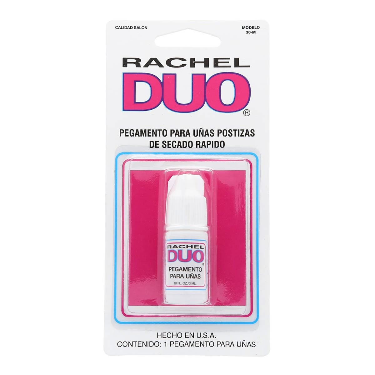 Pegamento goteo para uñas postizas Rachel Duo 30-M