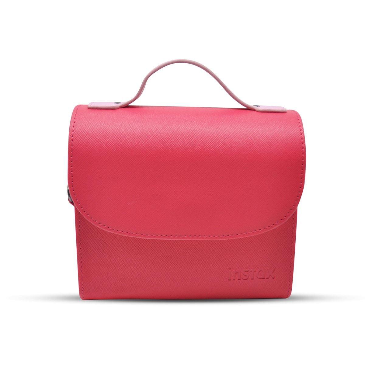 Paquete Cámara Instax Mini 9 Flamingo+ Estuche