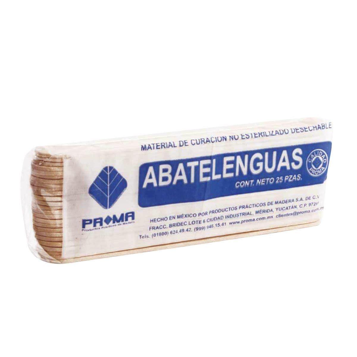 Abatelenguas 863270 c/25 pzas.