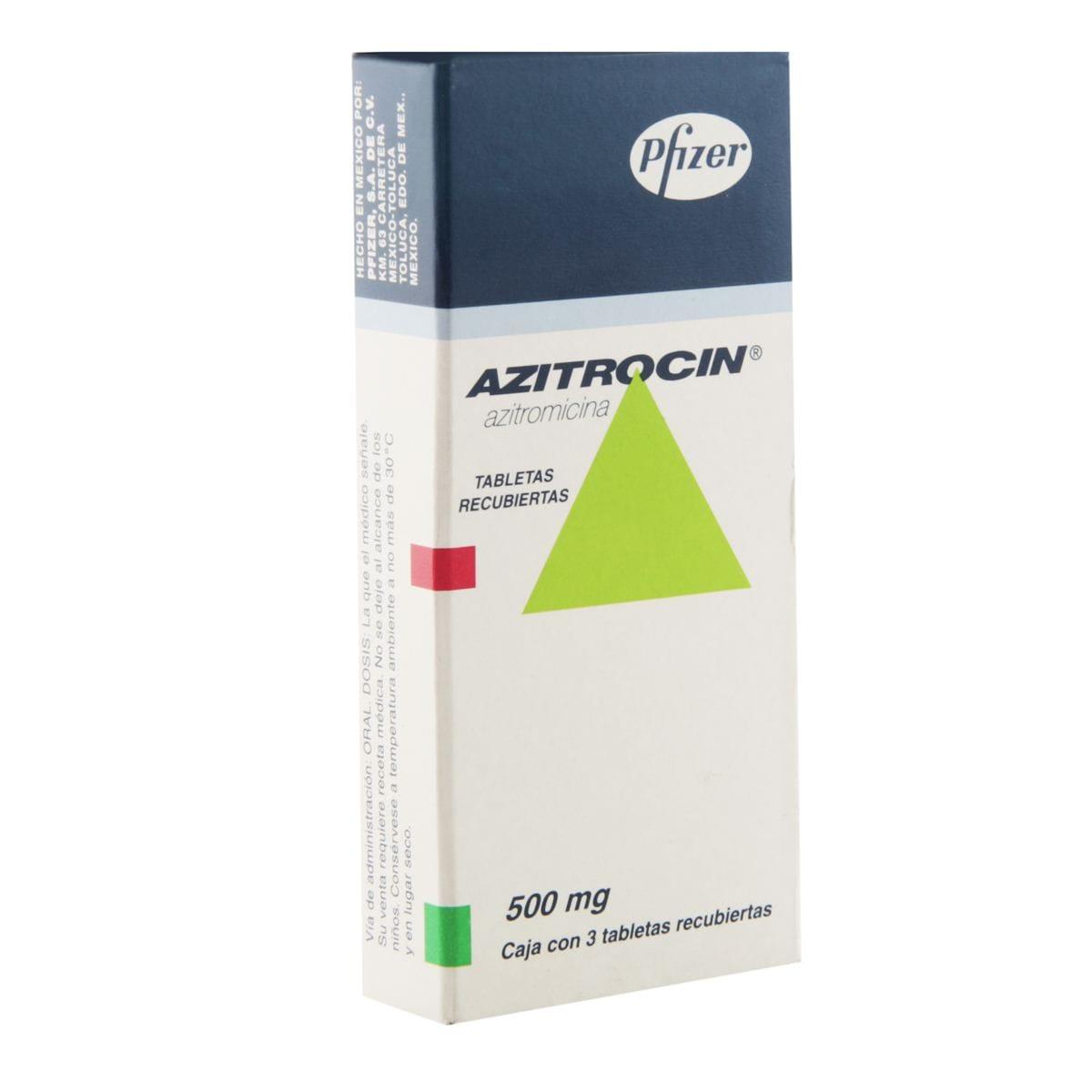 Azitrocin 500mg.Tab.C/3