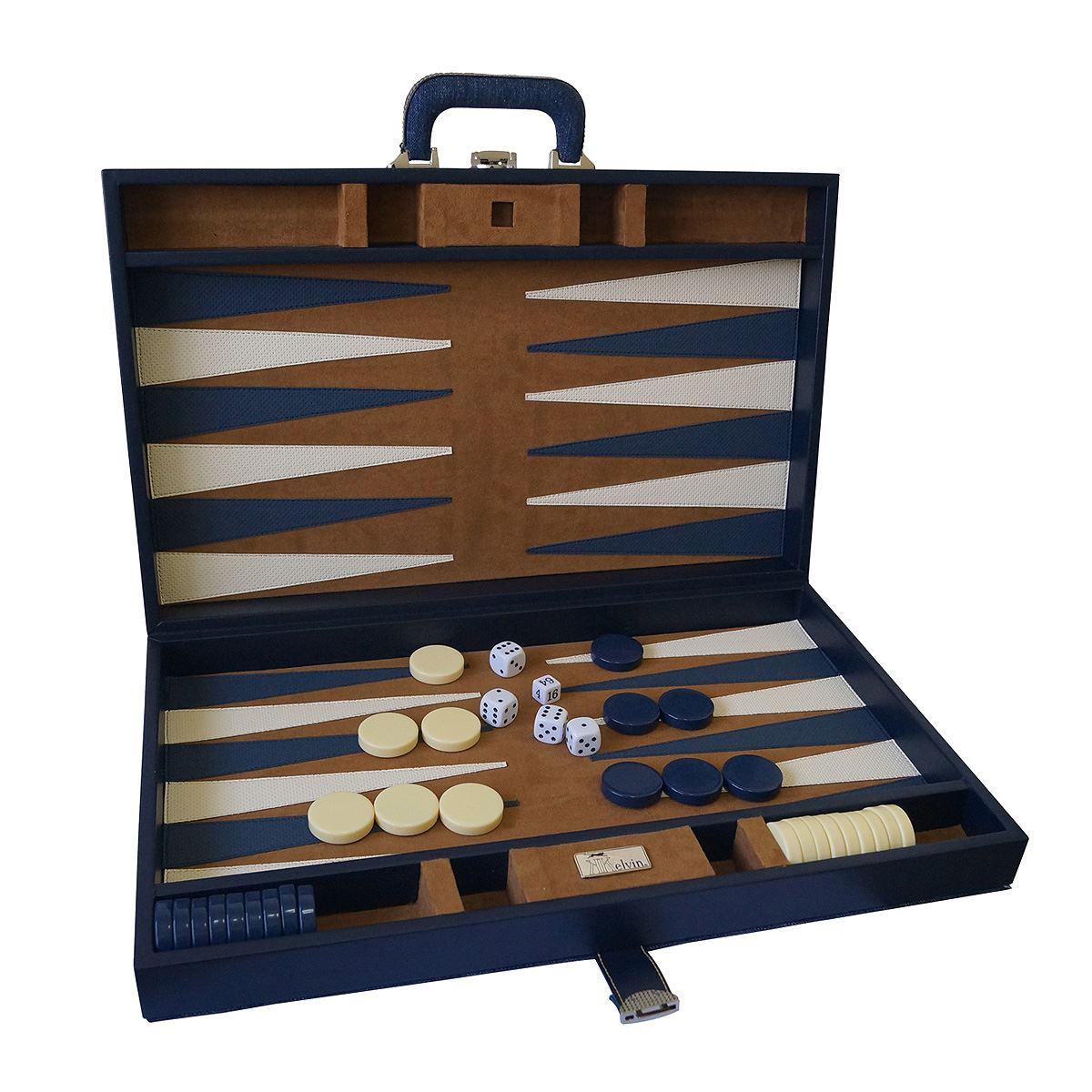 Backgammon jumbo mezclilla