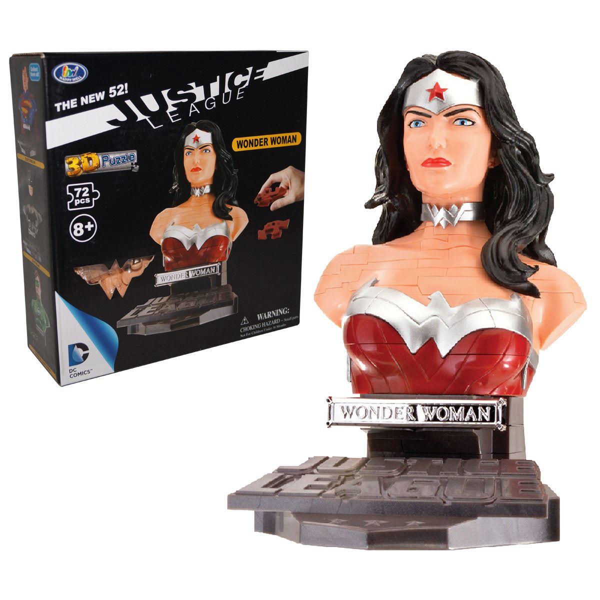 Rompecabezas 3D Face Mujer Maravilla Kelvin
