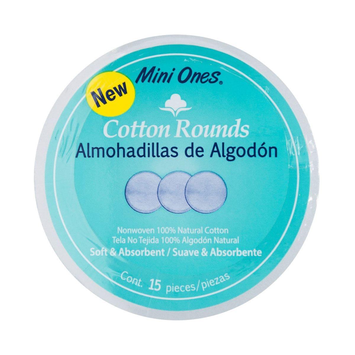Almohadillas De Algodón Mini Ones Con 15 Piezas