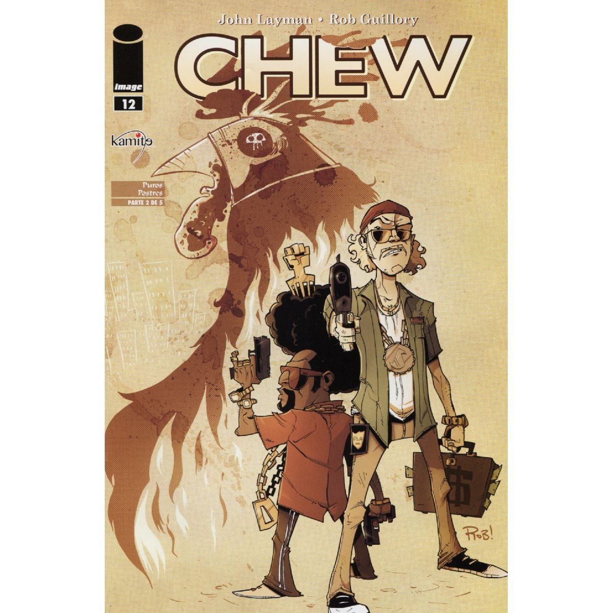 Cómic Chew mensual
