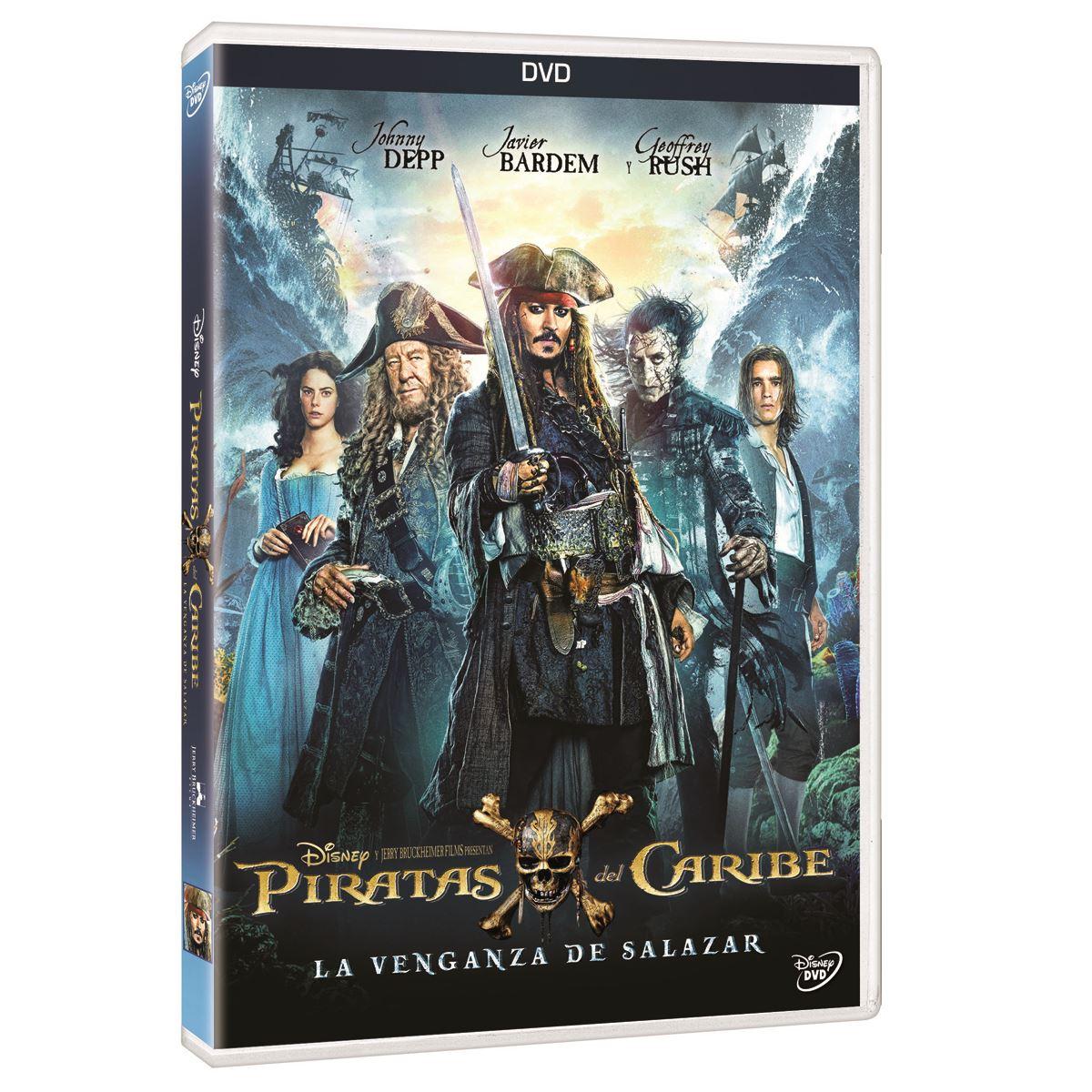DVD Piratas del Caribe 5: La Venganza de Salazar