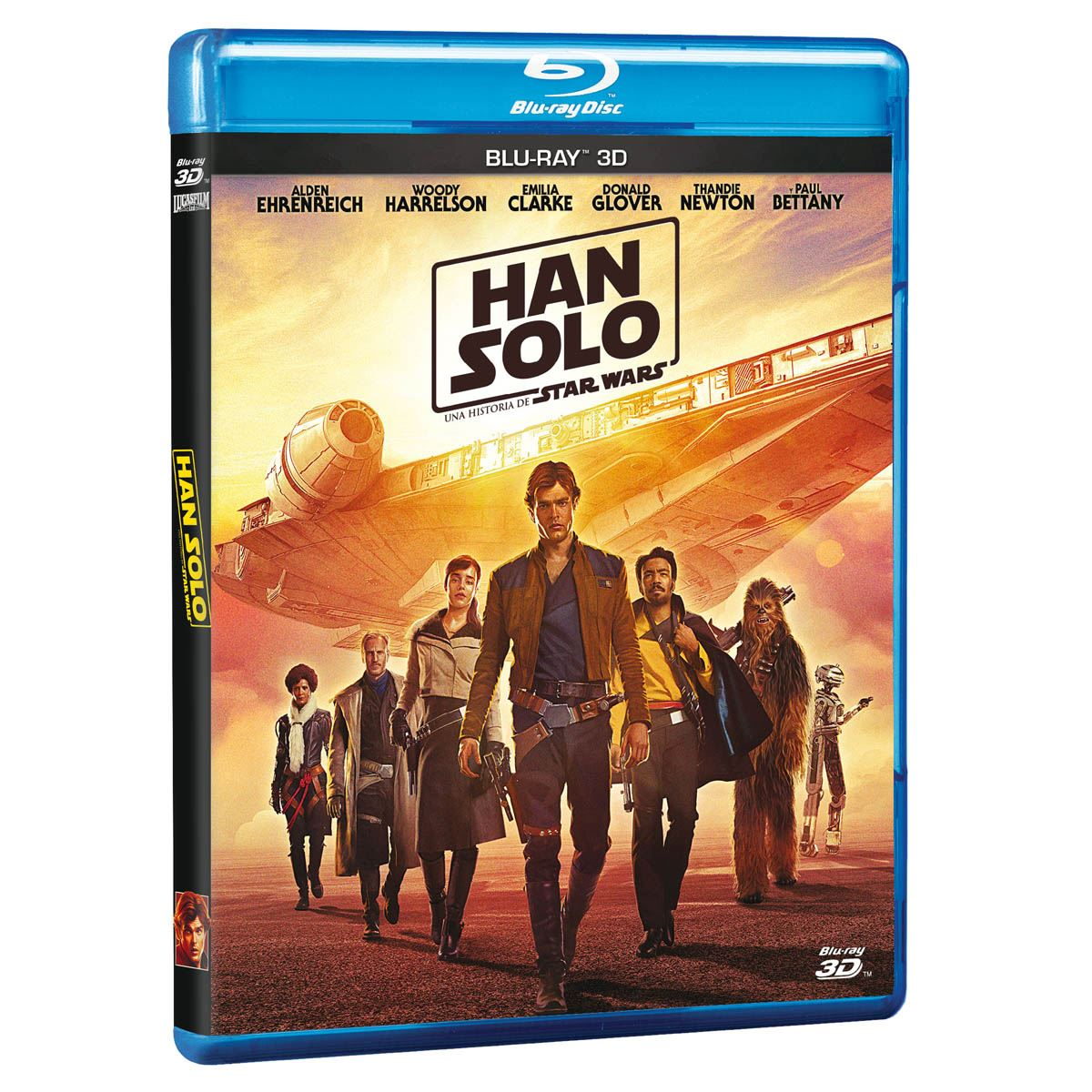 BR 3D Han Solo- Una Historia de Star Wars