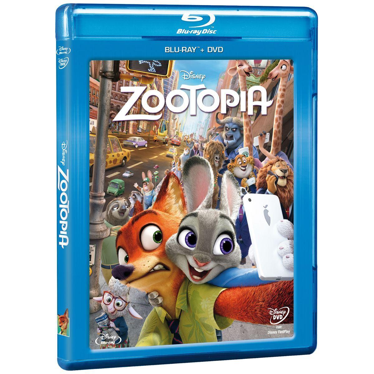 Zootopia Combo DVD con BR
