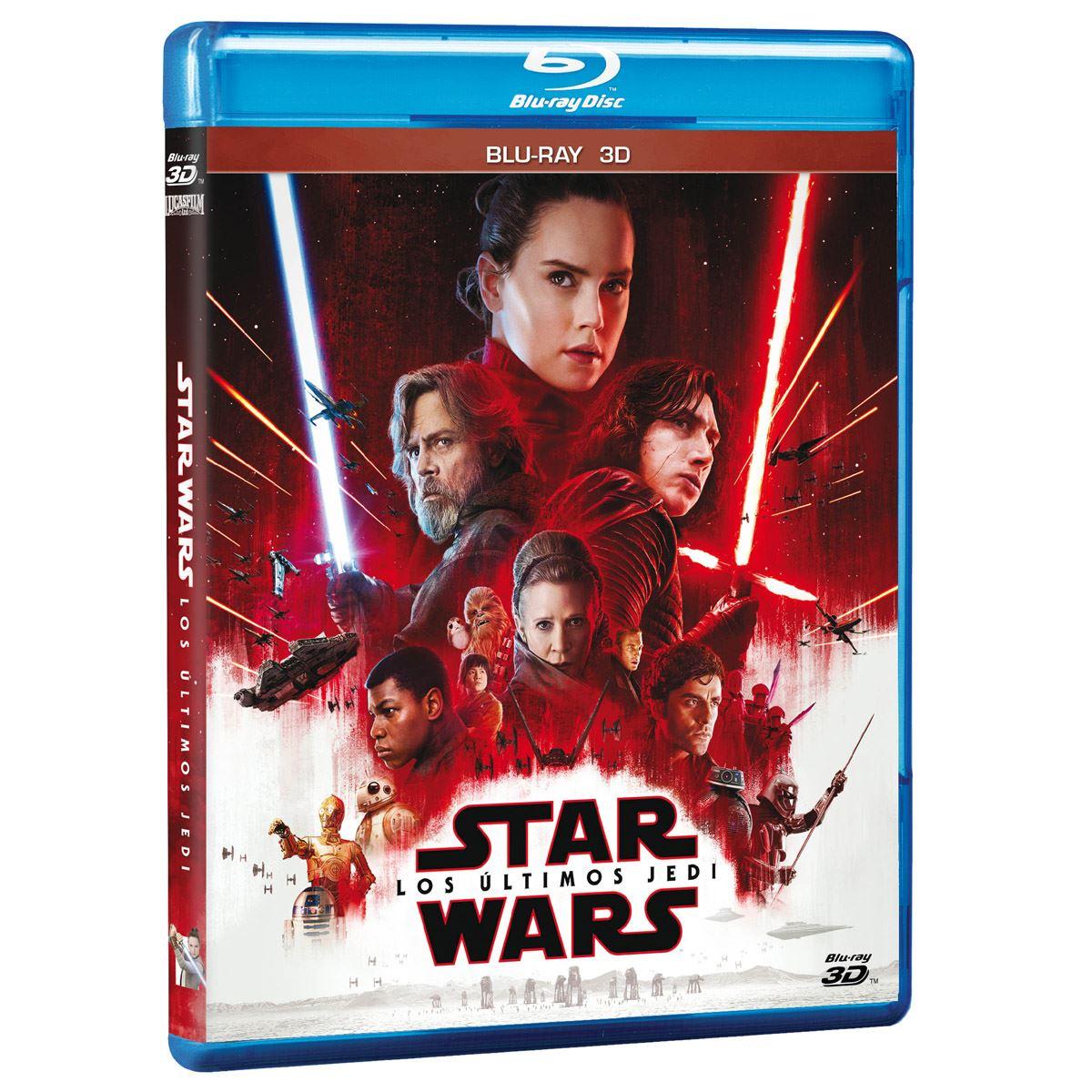 BR 3D Star Wars: Los Últimos Jedi