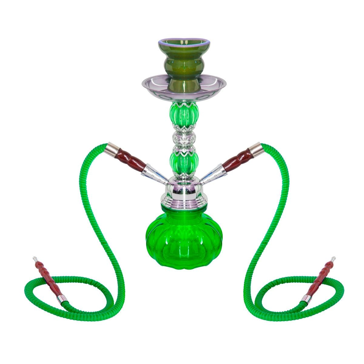 Hooka Verde 2/M Crystal Ornament