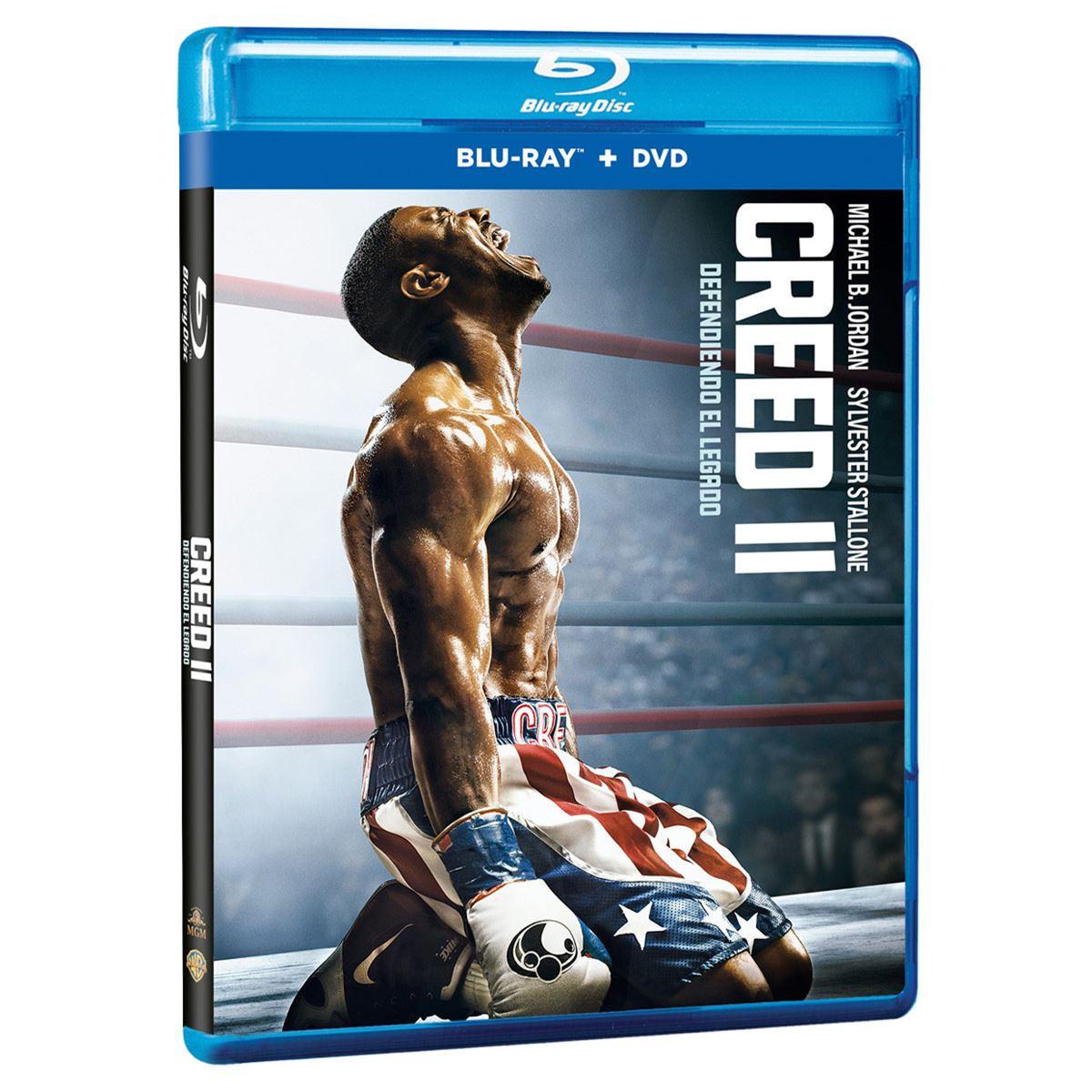 BR/DVD Creed II Combo