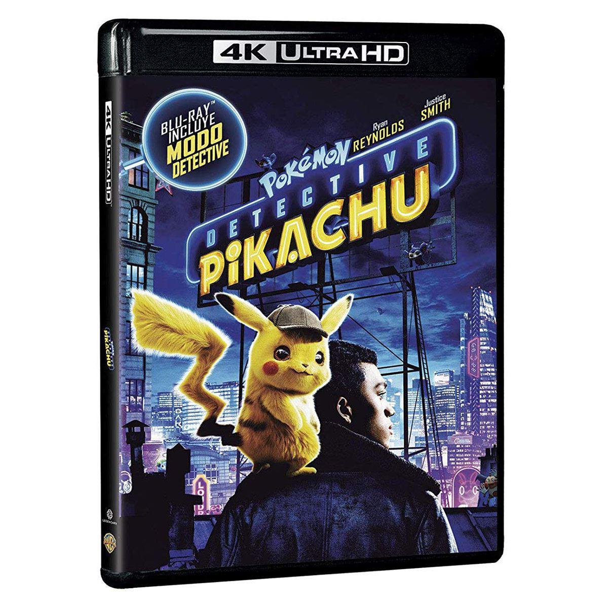 4K UHD Pokémon Detective Pikachu