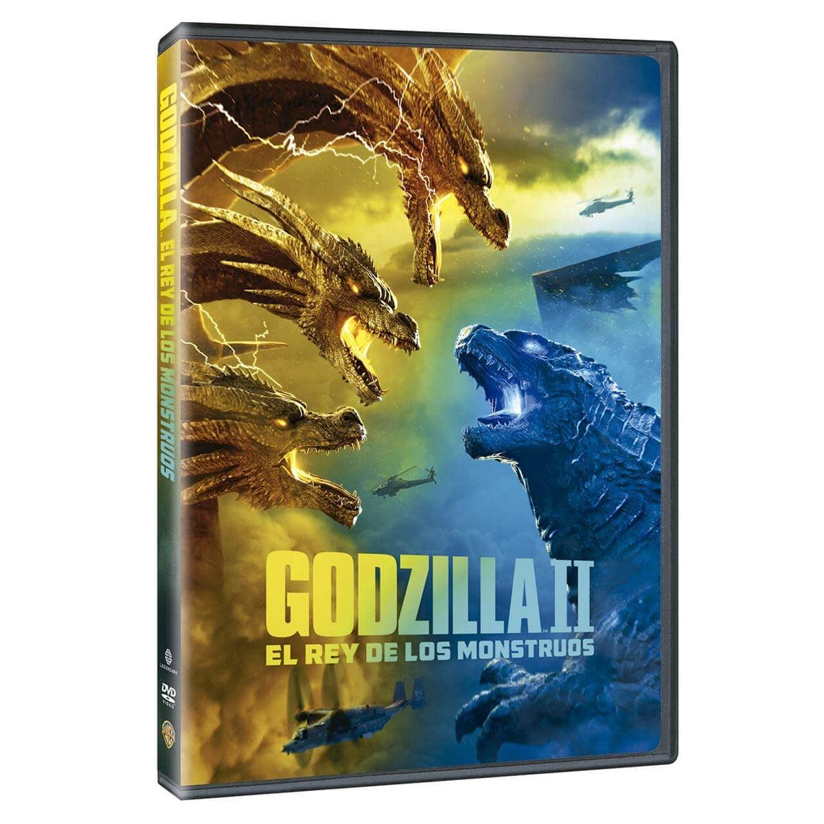 DVD Godzilla II El Rey de los Monstruos