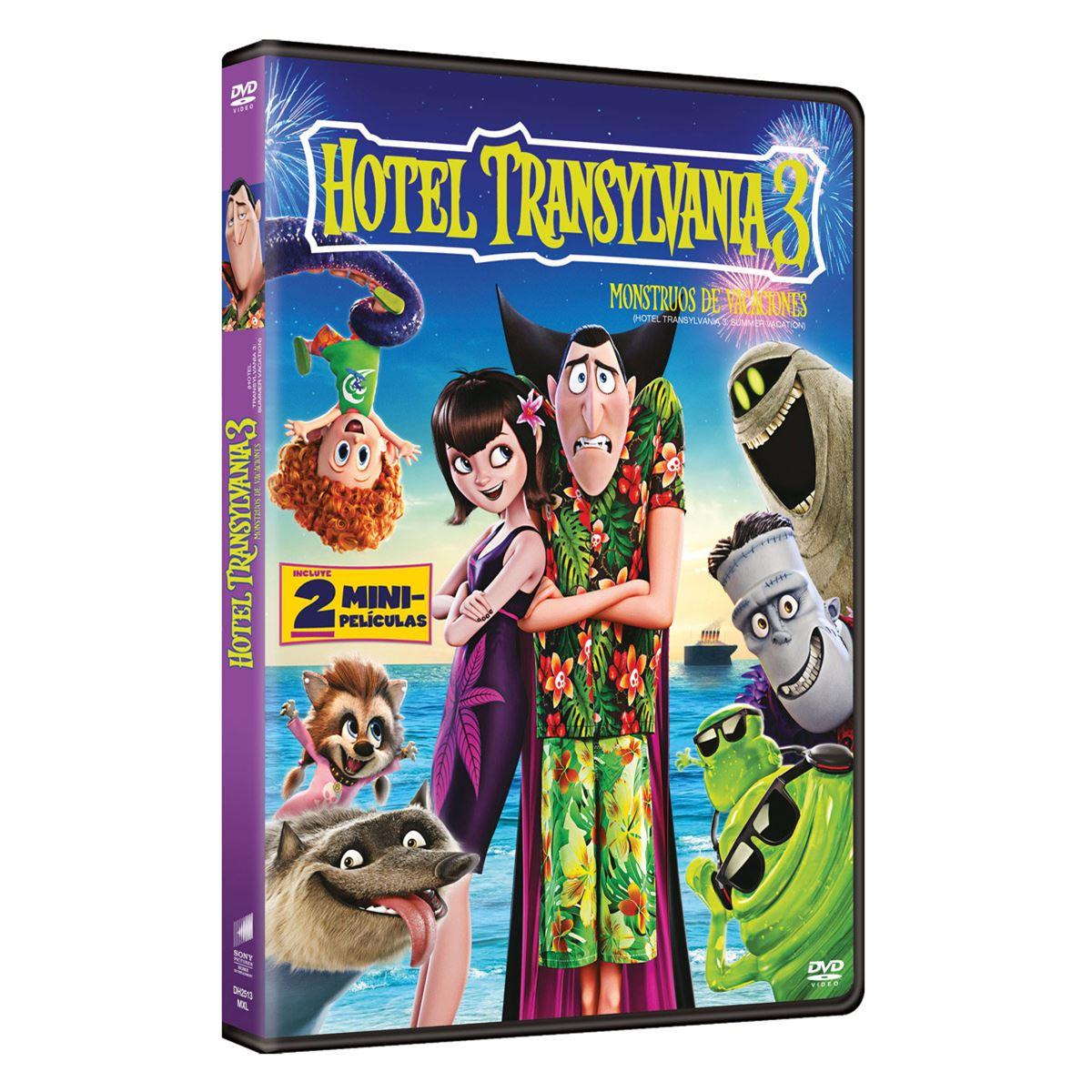 DVD Hotel Transylvania 3- Monstruos de Vacaciones